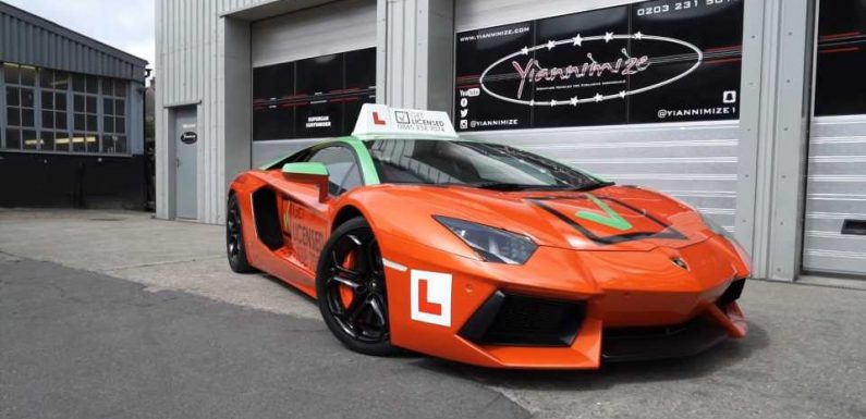 This Driver's Ed School Lets Unlicensed Teens Learn to Drive in a Lamborghini Aventador
