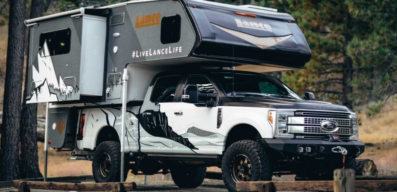 Lance Altimeter Is A Delicious Drop-In Truck Camper Debuting At SEMA
