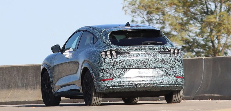 Here's Our Best Look Yet At The Mustang-Inspired Ford 'Mach E' Crossover