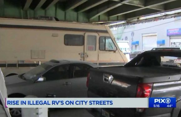 New Yorkers Have Started Living Under Bridges In RVs