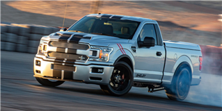 Shelby Super Snake Sport F-150 Concept Is a 755-HP Tire Roaster