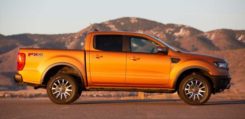 2019 Ford Ranger recalled again, this time for defective taillights