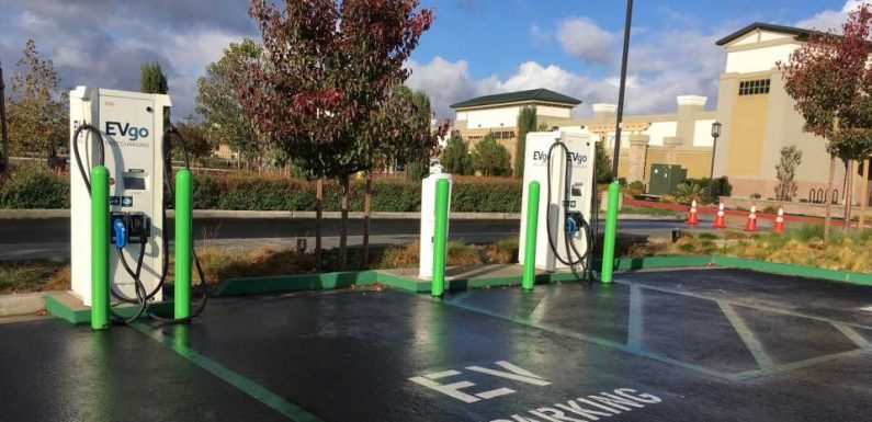 EVgo to Install Electric Car Chargers at Chevron Gas Stations Throughout California
