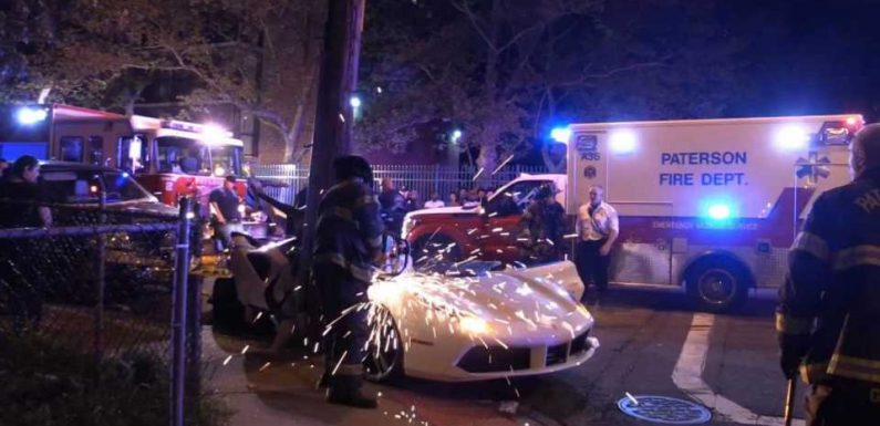 Ferrari 488 Ripped Apart by Firefighters to Rescue Driver After Horrifying Crash