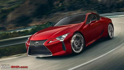 Rumour: Lexus LC500h launch postponed to Q1 2020