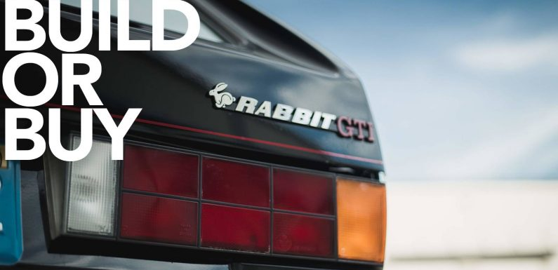 Build or Buy: One Super(charged) Mk1 GTI