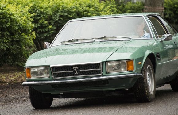 Rare anywhere: The De Tomaso Longchamp was a luxurious coupe with a Ford V8