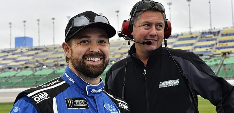 Crew chief Brian Pattie joins Stenhouse at JTG Daugherty Racing