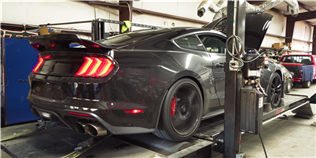 Watch the 2020 Ford Mustang Shelby GT500 Take on a Dyno