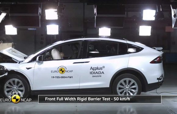Updated Tesla Model X Scores Impressively High In Euro NCAP Tests