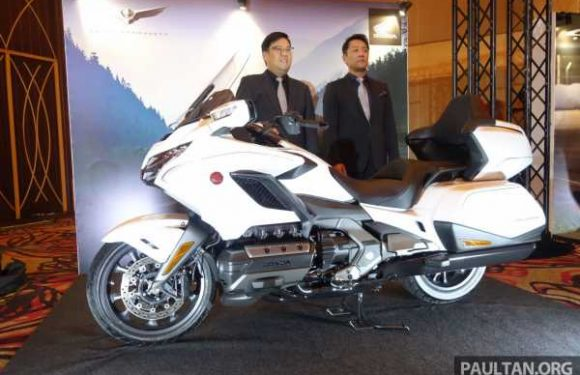 Honda Big Wing launches 2020 Honda GL1800 Gold Wing and CRF1100L Africa Twin in M'sia, from RM98k