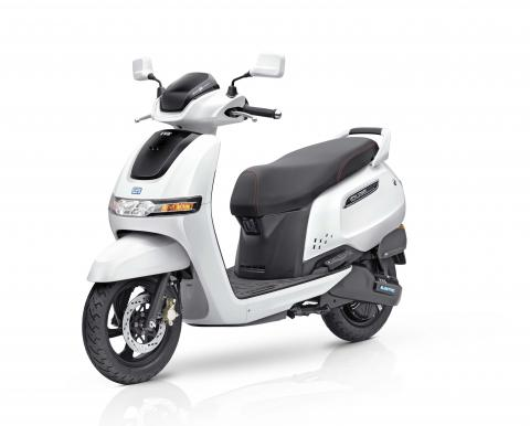 TVS iQube Electric e-scooter launched at Rs. 1.15 lakh