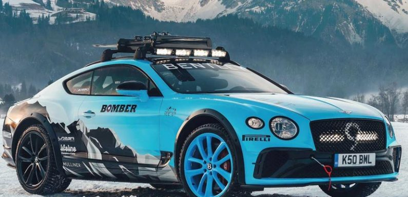 Bentley Builds A Continental GT To Race On Ice