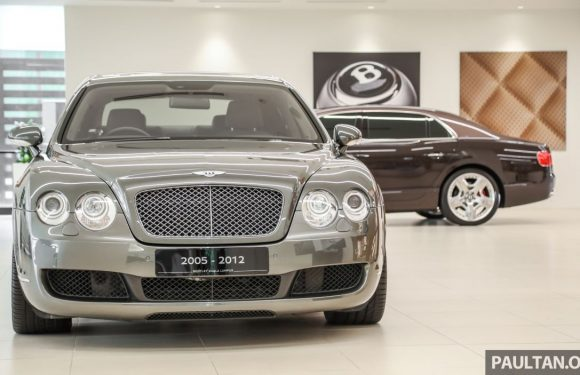GALLERY: Three generations of the Bentley Flying Spur – 15 years of the Continental GT's limo sister