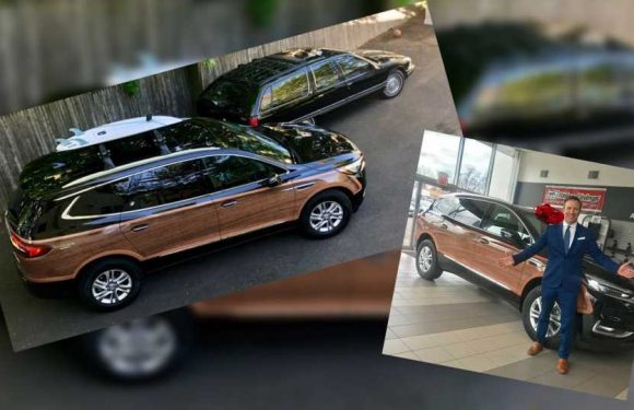 Connecticut Man Has 2019 Buick Enclave Wrapped in Faux-Wood to Replace Classic Roadmaster