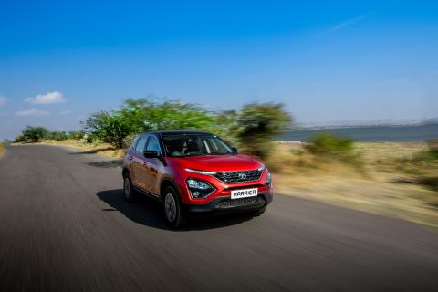 BS6 Tata Harrier bookings open. Now comes with 6-speed AT