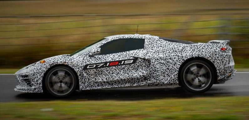 Mid-Engined Chevrolet Corvette C8 Could Pack Twin-Turbo 'LT7' Motor in Z06 Trim: Report