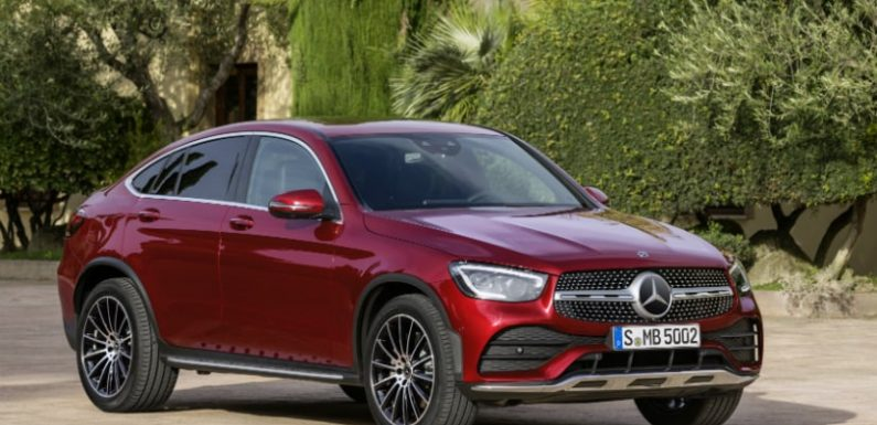 2020 Mercedes-Benz GLC Coupe Facelift Launch Date Announced