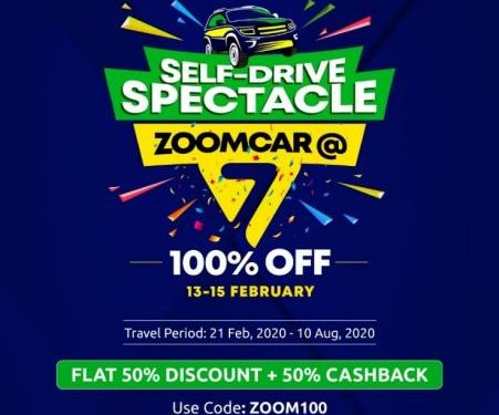 Zoomcar 7th anniversary offer: Free self-drive rentals