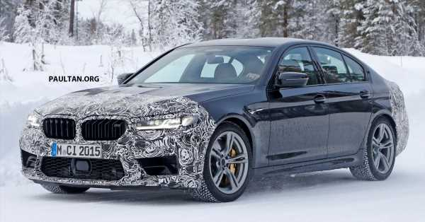 SPIED: F90 BMW M5 facelift – new style, more power?