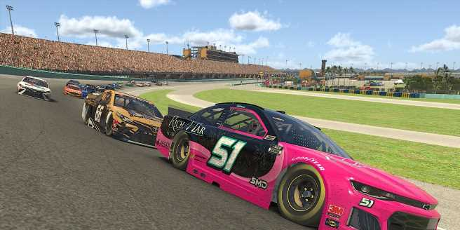 NASCAR Underdogs Level the Playing Field with iRacing