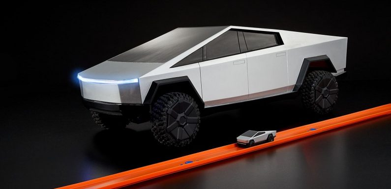 Keep the kids (or yourself) busy with an RC Hot Wheels Cybertruck