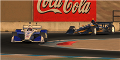 IndyCar iRacing Challenge Entry List Features 25 Real World Stars
