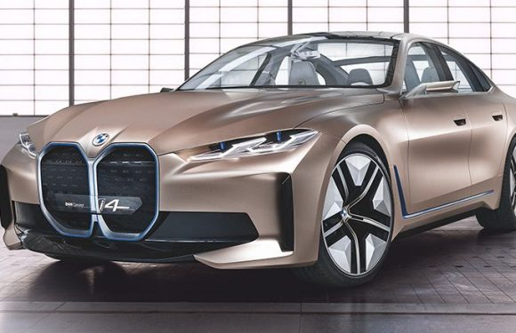 The BMW Concept i4 Is a Look at BMW's Electric Future