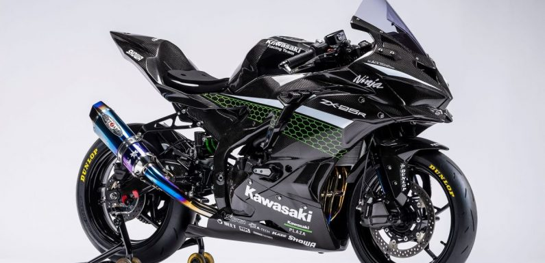 2020 Kawasaki ZX-25R Racer Custom shown