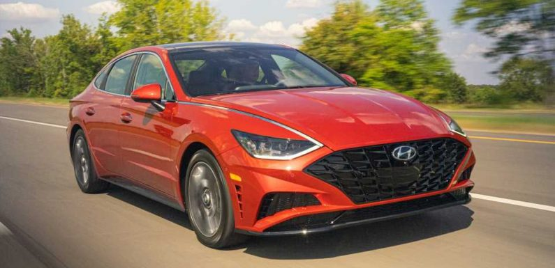 2020 Hyundai Sonata nets top safety ratings from the NHTSA and IIHS