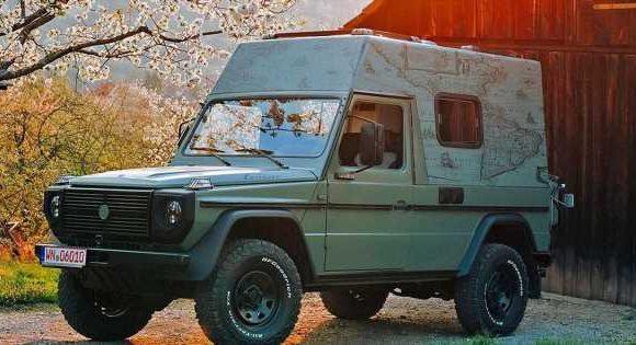 This Ex-Military G-Wagen Has Been Turned Into A Motorhome And We Want It