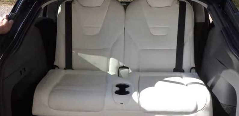 7-Seat Tesla Model Y With Third-Row Seats Added: Let's See How They Fit