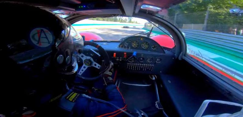 Listen to a Jet Turbine-Powered Race Car Hit 180 MPH on the Track