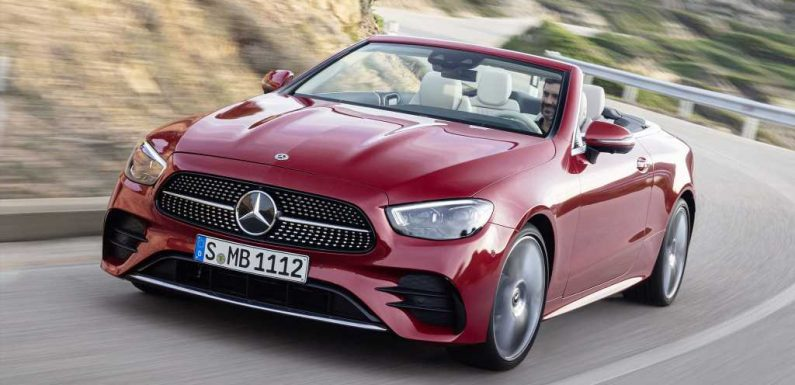 2021 Mercedes-Benz E-Class Coupe and Cabriolet Debut