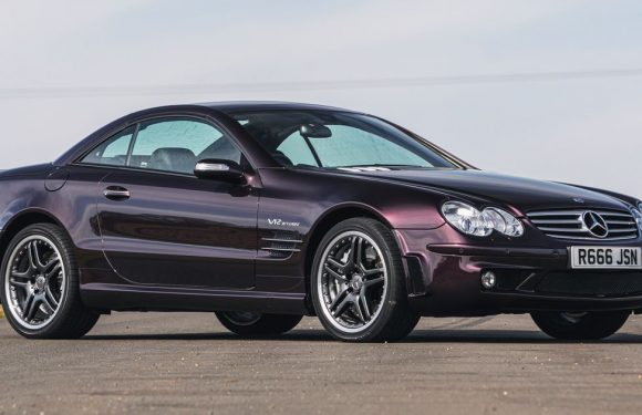 This Delightfully Purple, 1000Nm Mercedes SL65 AMG V12 Could Be Yours