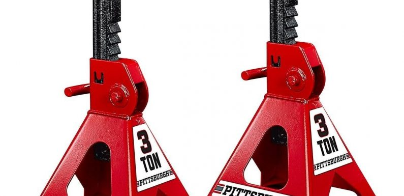 Harbor Freight Recalls 1.75m 3, 6 Ton Jack Stands Over Risk of Sudden Collapse
