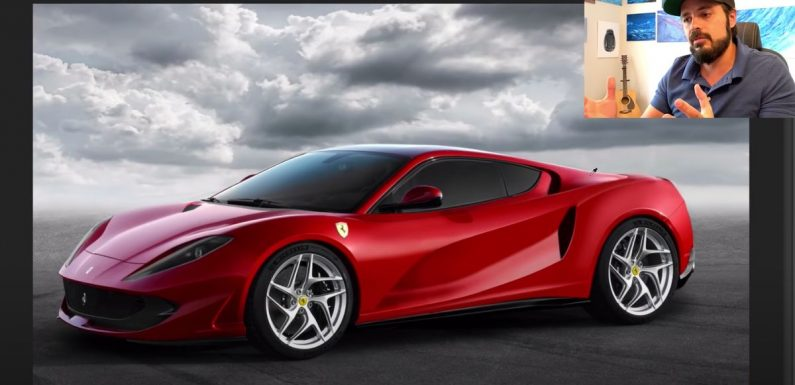 Watch As A Ferrari 812 Superfast Is Given A Mid-Engine Conversion In Photoshop