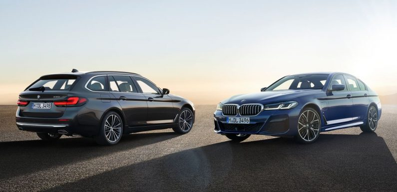 Updated 5-Series Brings a 523bhp M550i And Much Grille