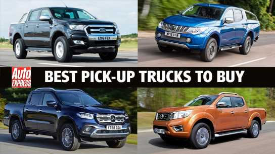 Best pick-up trucks 2020