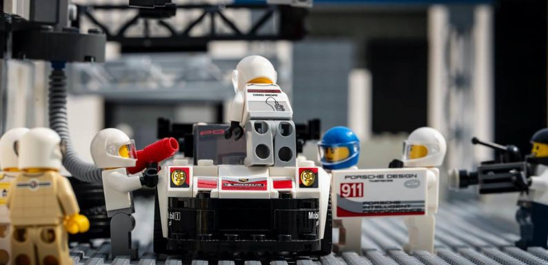 More Classic Racing Photos Recreated with LEGO