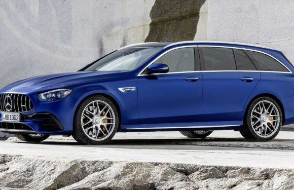 The 2021 Mercedes-AMG E 63 S Gets a New Face and a Bunch of Tech, But No Power Bump