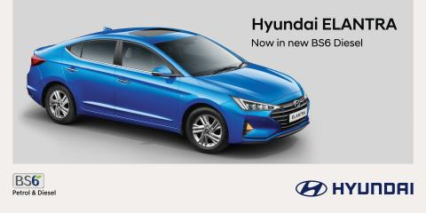 Hyundai Elantra Diesel BS6 launched at Rs. 18.70 lakh
