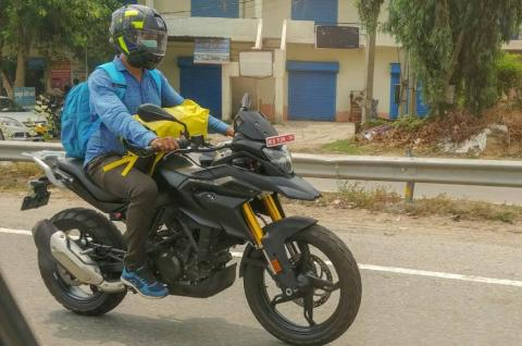 BS6-compliant BMW G 310 R & G 310 GS spied in India