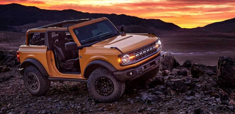 2021 Ford Bronco's Tube Doors May Feature Built-In Airbags