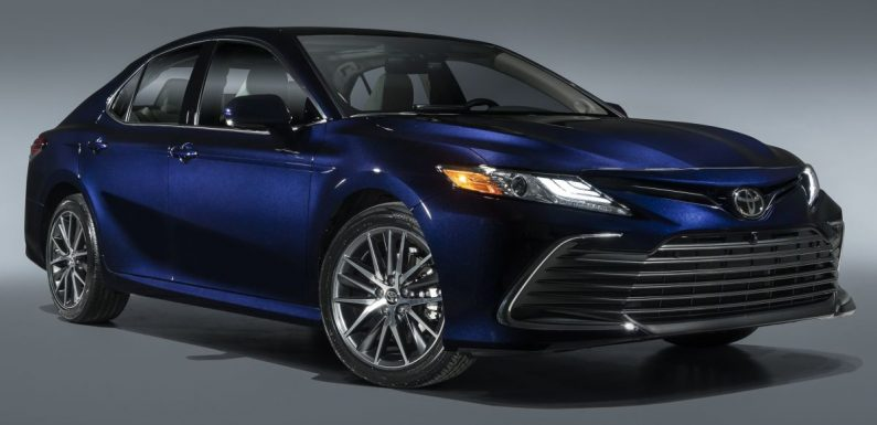 2021 Toyota Camry facelift gets floating screen, Toyota