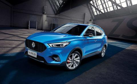 MG ZS facelift debuts in the UK