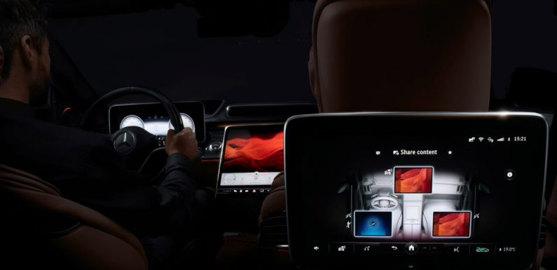 The Next-Gen Mercedes S-Class' Cabin Has A Thing For Screens