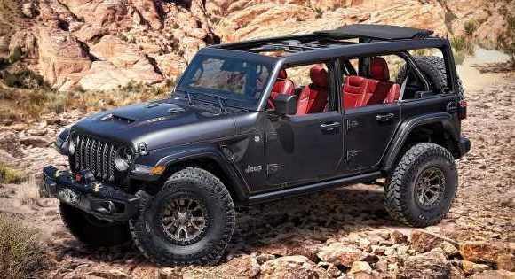 The Jeep Wrangler Has Been Given A Conveniently-Time 6.4 V8 Transplant
