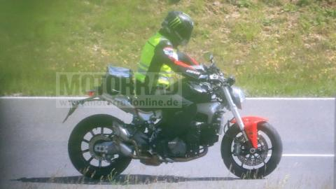 Next-gen Ducati Monster spied