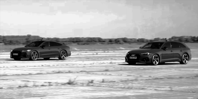 Watch: The RS4 and the RS7 Go Head to Head